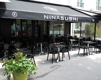 Nina Sushi Montparnasse Restaurant Cacher