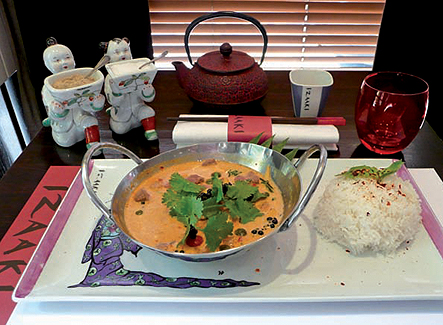 Recette Cacher Curry de canard Thai par Izaaki